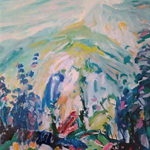 Stipe Golac - Velebitski pejsaž